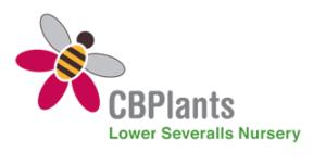 CB Plants logo